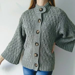 Old Navy Wool Blend Cardigan Sweater